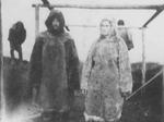Alaskan People in Fur Coats