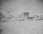 Alaskan Person in the Snow