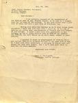 Levi Pennington to Oliver Weesner, January 29, 1940