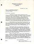 Herbert Hoover to J.C. Ainsworth, December 14, 1925