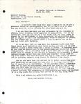Levi Pennington to President Herbert Hoover, March 16, 1930