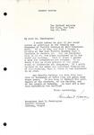 Herbert Hoover to Levi Pennington, May 19, 1941