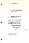 Herbert Hoover to Levi Pennington, April 3, 1951