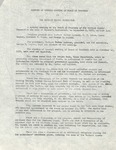 Minutes of the Board of Trustees of the Herbert Hoover Foundation