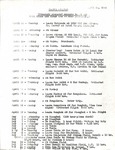 Hoover Mission, Vienna Itinerary by George Fox University Archives