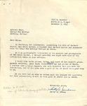 Betty Jordan to George Fox College Library, December 3, 1955