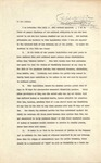 Hebert Hoover to the United States Senate, May 28, 1930 by George Fox University Archives