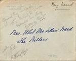 Mary Randolph to Ethel McLellan Ward, March 6, 1929