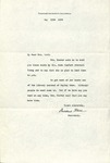 Mildred Hall to Mrs. Ward, May 11, 1934