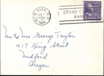 Hoover Family to George Taylor, February 1, 1944