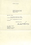 Herbert Hoover to Milo Ross, May 25, 1959 by George Fox University Archives