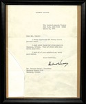 Herbert Hoover to Russell Gainer, March 24, 1964