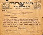 Herbert Hoover to D. Kenworthy, May 3, 1920