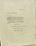 Arthur Roberts, Mary Dade, and Charles Beals to Herbert Hoover, August 3, 1955