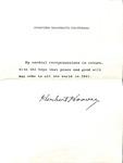 Hoover to Robert Crow, December 27, 1940