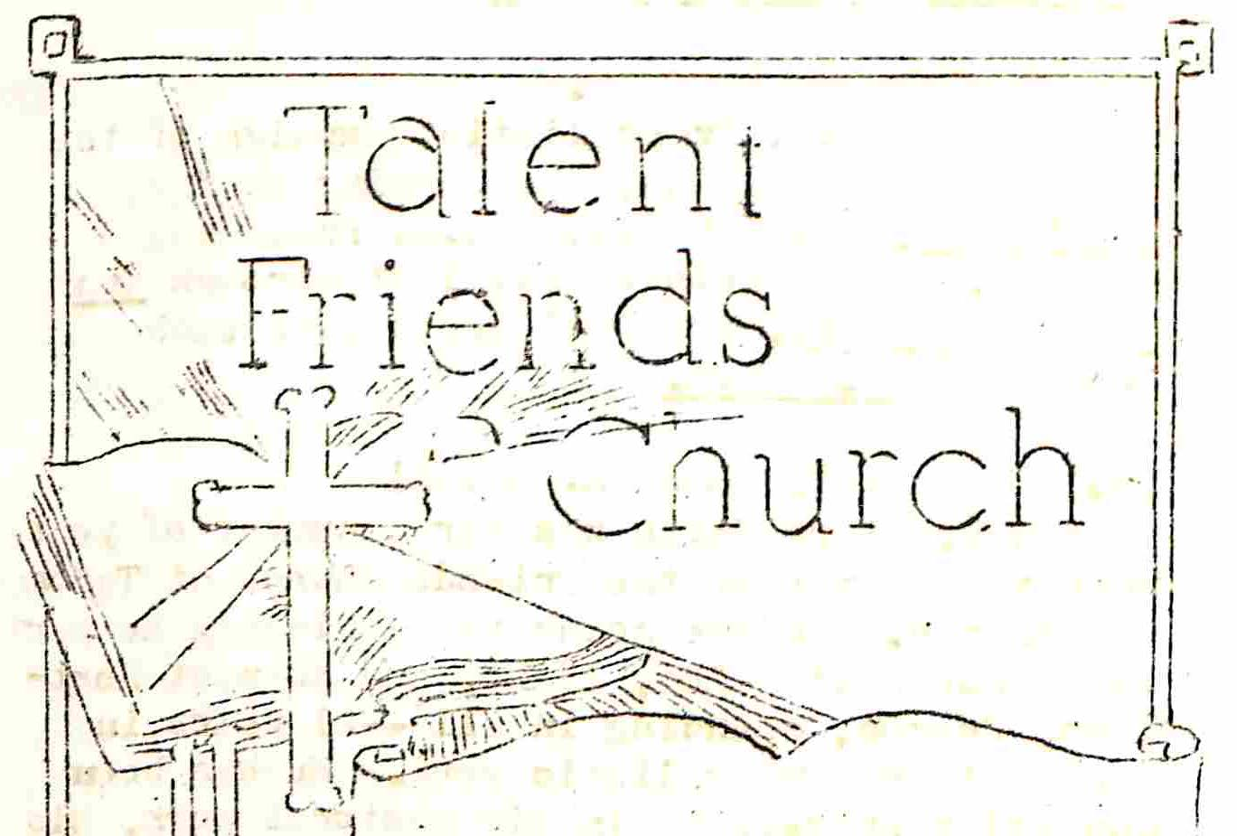 Talent Friends Church