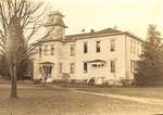 Old Hoover Hall/Pacific College Building by George Fox University Archives