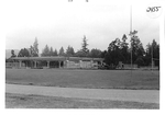Wheeler Sports Center Construction by George Fox University Archives