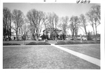 Minthorn Hall across the Quad by George Fox University Archives