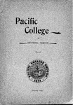 Pacific College Catalog, 1895