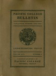 Pacific College Catalog, 1922-1924