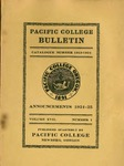 Pacific College Catalog, 1924