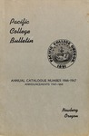 Pacific College Catalog, 1946-1948