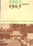 George Fox College Catalog, 1961-1963 by George Fox University Archives