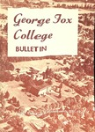 George Fox College Catalog, 1951-1952 by George Fox University Archives