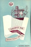 George Fox College Catalog, 1955