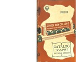 George Fox College Catalog, 1957