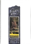 George Fox College Catalog, 1993-1994 by George Fox University Archives