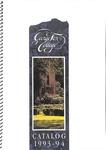 George Fox College Catalog, 1993-1994