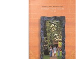 George Fox University Catalog, 1998-1999