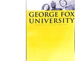 George Fox University Graduate Catalog, 2000-2001