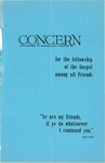 The Concern of Evangelical Friends for the Fellowship of the Gospel Among All Friends, Fall 1959 by Arthur O. Roberts Editor