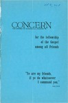 The Concern of Evangelical Friends For the Fellowship of the Gospel Among All Friends, Winter 1960 by Arthur O. Roberts Editor