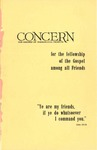 The Concern of Evangelical Friends for the Fellowship of the Gospel Among All Friends, Fall 1960
