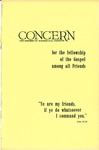 The Concern of Evangelical Friends for the Fellowship of the Gospel Among All Friends, April 1961 by Arthur O. Roberts Editor