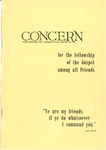 The Concern of Evangelical Friends for the Fellowship of the Gospel Among All Friends, October 1961