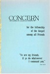 The Concern of Evangelical Friends for the Fellowship of the Gospel Among All Friends, January 1962 by Arthur O. Roberts Editor