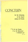 The Concern of Evangelical Friends for the Fellowship of the Gospel Among All Friends, April 1962 by Arthur O. Roberts Editor