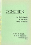 The Concern of Evangelical Friends for the Fellowship of the Gospel Among All Friends, July 1962 by Arthur O. Roberts Editor