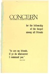 The Concern of Evangelical Friends for the Fellowship of the Gospel Among All Friends, October 1962