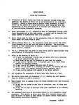 Bruin Jr.: Rules and Procedures by George Fox University Archives