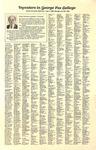 George Fox College Life, October 1988 List of Investors