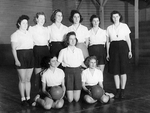 Pacific College Basketball Team by George Fox University Archives