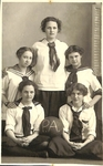 Pacific Academy Girls Basketball Team by George Fox University Archives
