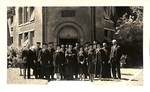 Graduating Class Circa 1940 by George Fox University Archives