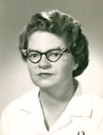 Alice Wheeler - later Alice Ross - Nurse at GFC by George Fox University Archives